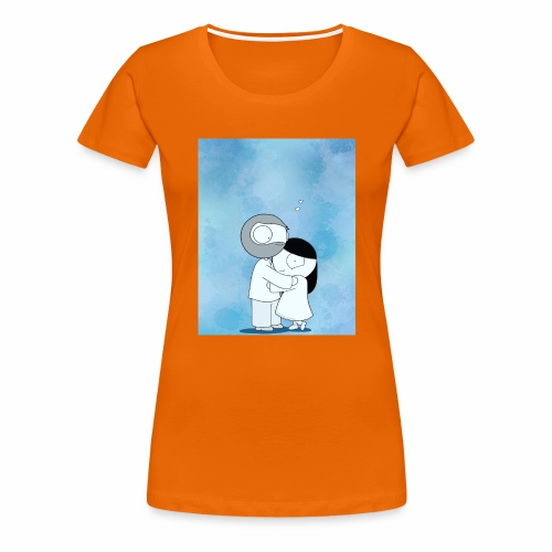 Happy - Frauen Premium T-Shirt