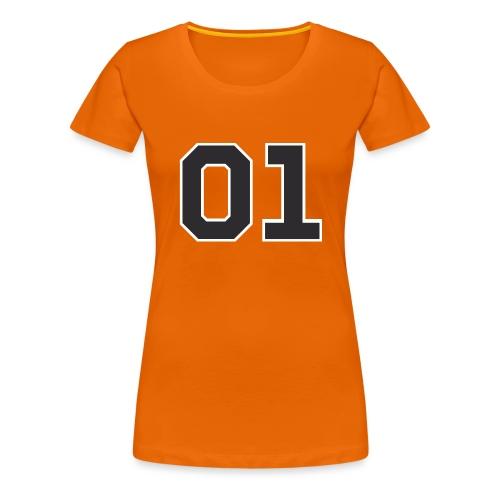 """General Lee """"01"""" - Frauen Premium T-Shirt"""