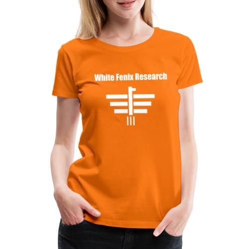 White Fenix Research 2019 - T-shirt Premium Femme