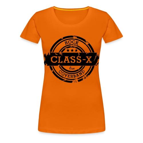 Class-X - Vrouwen Premium T-shirt