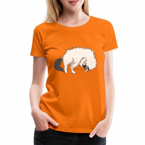 Sleeping Sacred Birman Cat - Women's Premium T-Shirt
