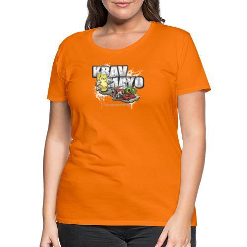 Krav Mayo - Frauen Premium T-Shirt