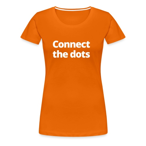 1 MAMO Connect the dots - Women's Premium T-Shirt