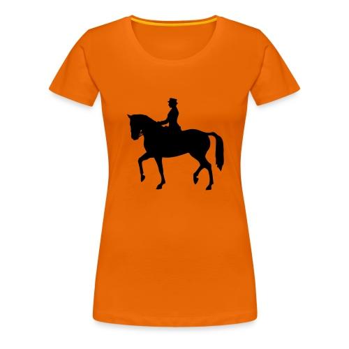 Dressuur 1C - Vrouwen Premium T-shirt