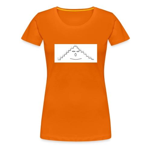faccina scala - Maglietta Premium da donna
