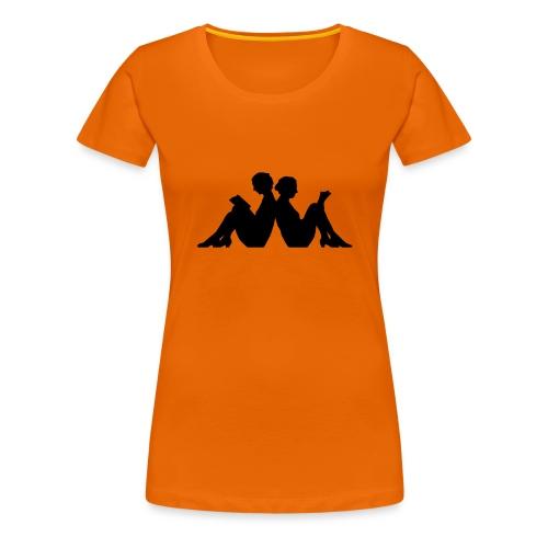 Läsro - Premium-T-shirt dam