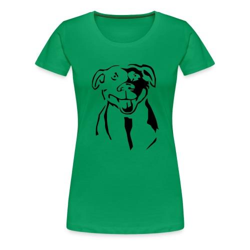 Staffordshire Bull Terrier - Naisten premium t-paita