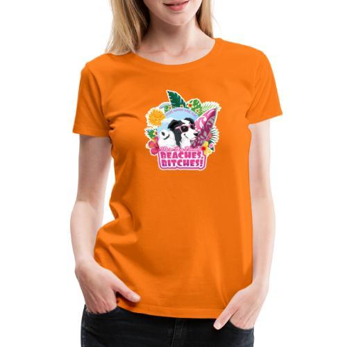More Dog-Friendly Beaches - Women's Premium T-Shirt