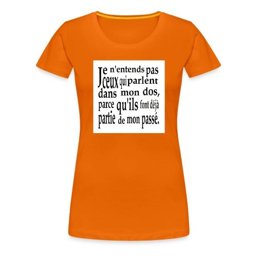 Cadeau amusant pour faux-ami - Frauen Premium T-Shirt