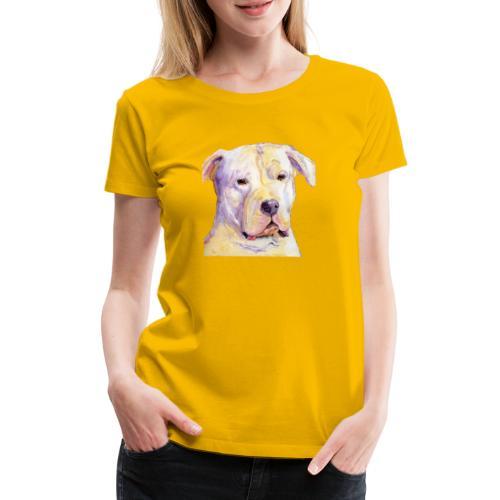dogo argentino - Dame premium T-shirt