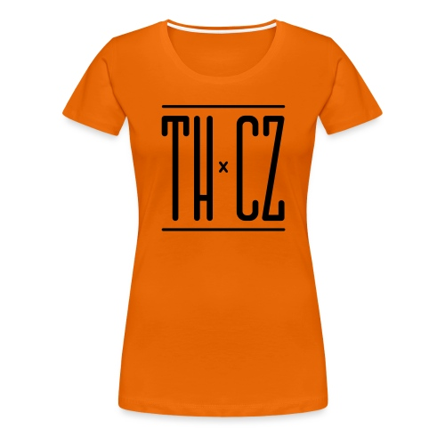 Logo THxCZ - T-shirt Premium Femme