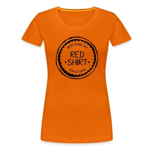 red shirt - Vrouwen Premium T-shirt
