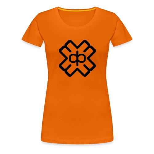 d3ep logo black png - Women's Premium T-Shirt