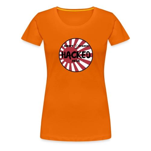 Hacked Media support Hoodie - Premium-T-shirt dam