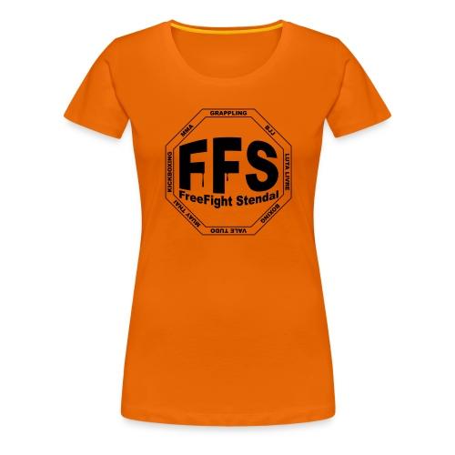 entwurf002back - Frauen Premium T-Shirt