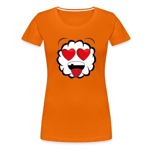 PKS Sheep Love - Frauen Premium T-Shirt