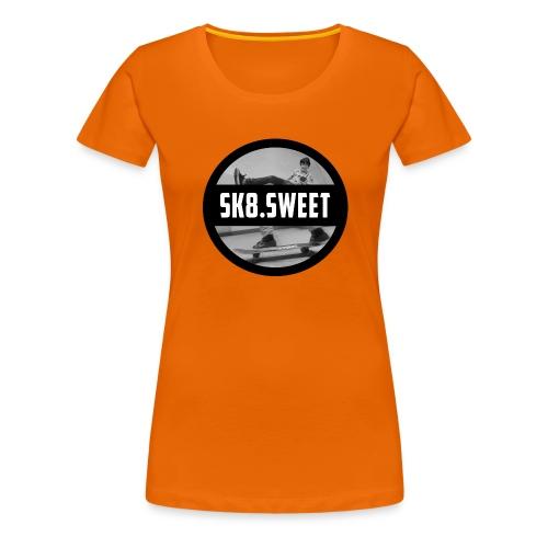 sk8 buttons - Vrouwen Premium T-shirt