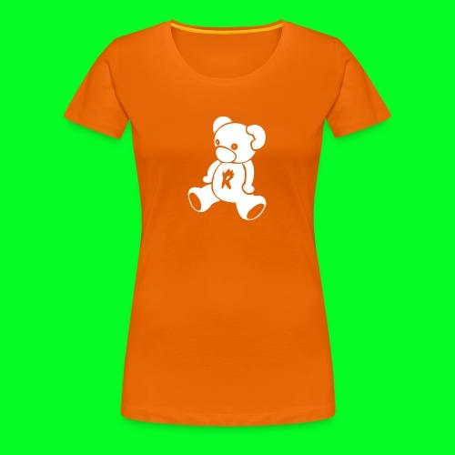 MiniSmikkelBeerRugzak - Vrouwen Premium T-shirt