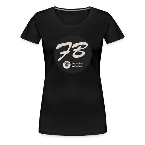 TSHIRT-INSTATUBER-NEDERLAND - Vrouwen Premium T-shirt