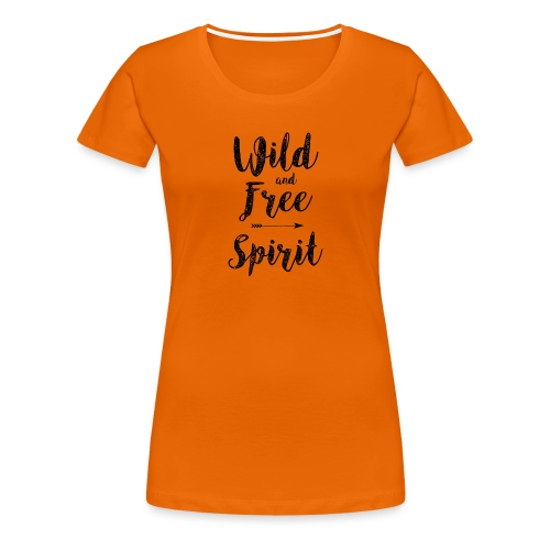 Wild-and-Free-Spirit - Women's Premium T-Shirt