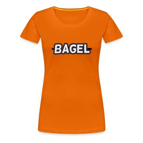BAGELlllllllllllllllllllllllllllllllllllllllllllll - Vrouwen Premium T-shirt