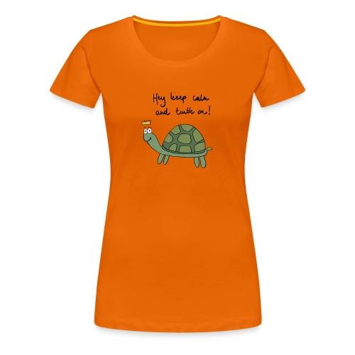 turtle - Vrouwen Premium T-shirt