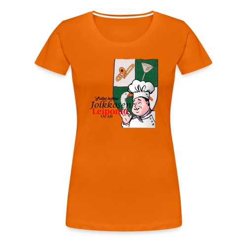 Leipomo - Naisten premium t-paita