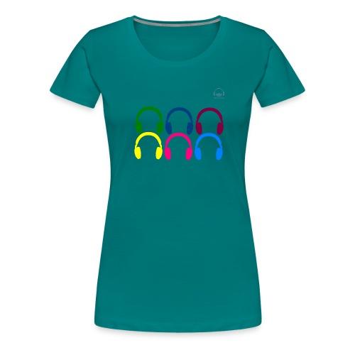 Headphones Tarifa - Camiseta premium mujer