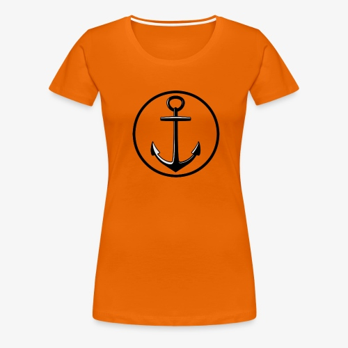 LOGO_anger - Dame premium T-shirt