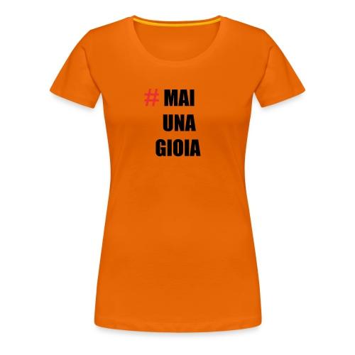 MAGLIA_1 - Maglietta Premium da donna
