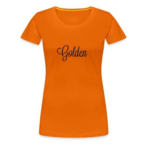 Basically basic - Dame premium T-shirt