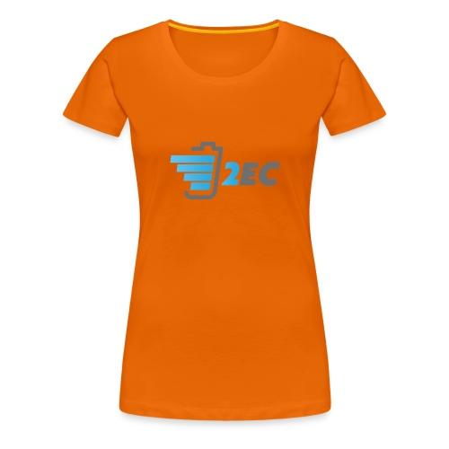 2EC Kollektion 2016 - Frauen Premium T-Shirt