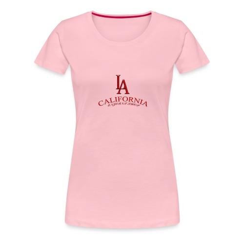 LoaAngelesEnjoint - Maglietta Premium da donna