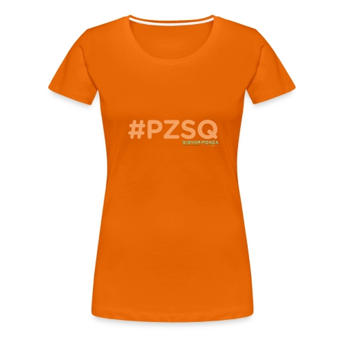 PZSQ 2 - Maglietta Premium da donna