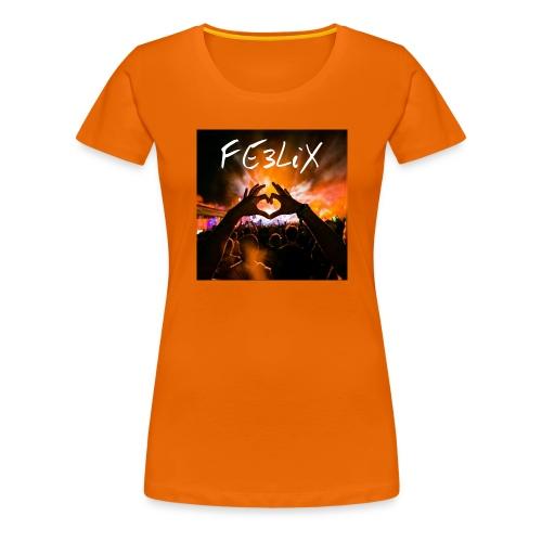 FE3LiX Logo. . g - Frauen Premium T-Shirt