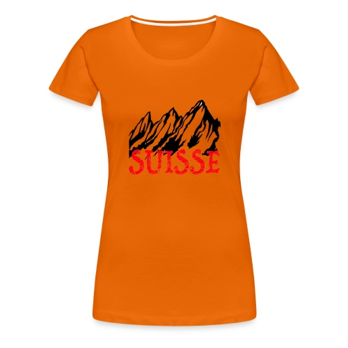 Swiss Spirit Collection - T-shirt Premium Femme