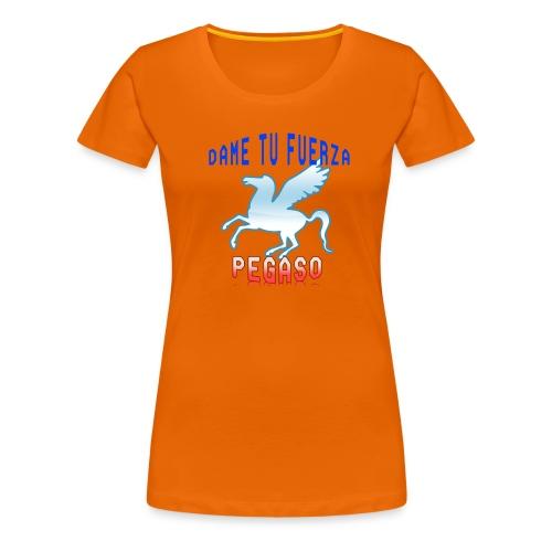 PEGASO - Camiseta premium mujer