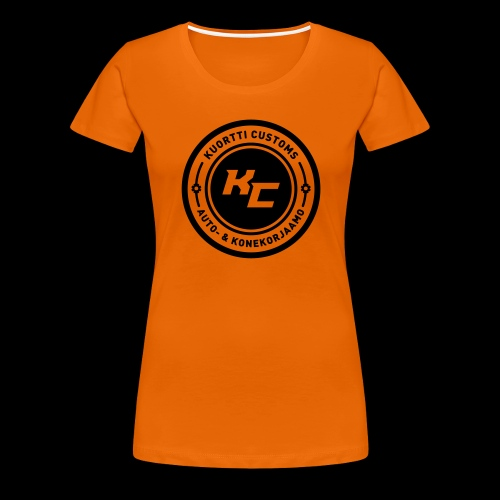 kc_tunnus_2vari - Naisten premium t-paita