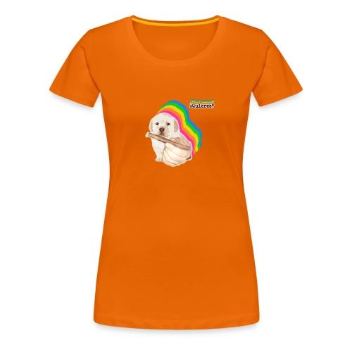 ¿Quieres? Puppy Meme - Women's Premium T-Shirt