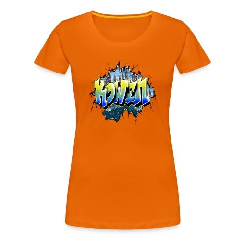 Kowen Graffiti Tag by Max le Tagueur - T-shirt Premium Femme