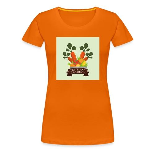 conception aliments biologiques3 - T-shirt Premium Femme