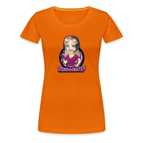 skilledaf - Vrouwen Premium T-shirt