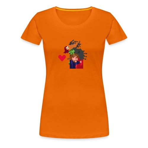 Abbracciccio-06 - Maglietta Premium da donna