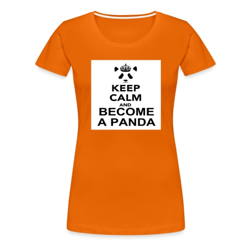 Vær En Panda - Dame premium T-shirt