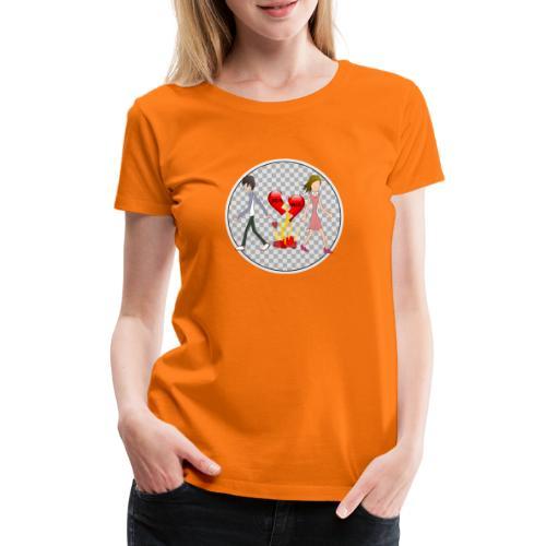 Divorce Trennung - Frauen Premium T-Shirt