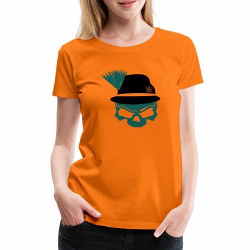 Steirerhutskull - Frauen Premium T-Shirt