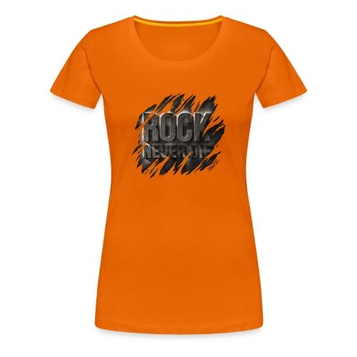 ROCK - Maglietta Premium da donna