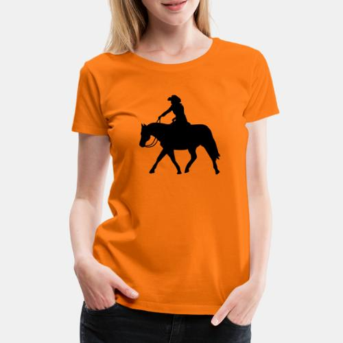 Ranch Riding extendet Trot - Frauen Premium T-Shirt