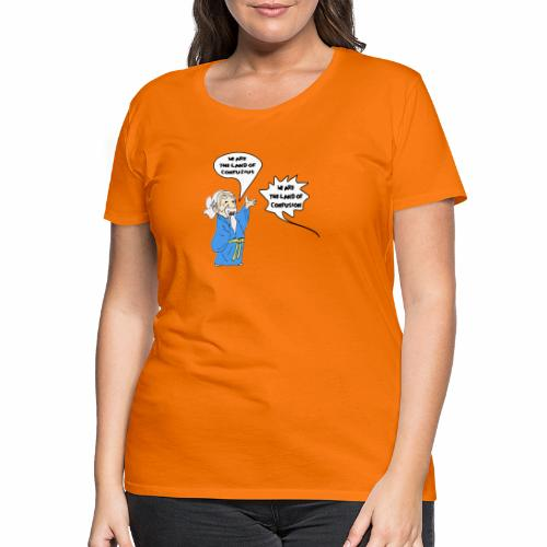konfuss - Frauen Premium T-Shirt