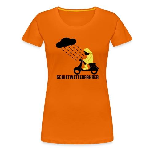 Schietwetterfahrer - Frauen Premium T-Shirt